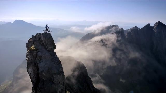 文艺纪录片?感受下大山里的极限自行车