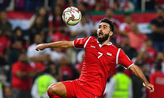 亚洲杯-本届首个0-0 叙利亚闷平十人巴勒斯坦