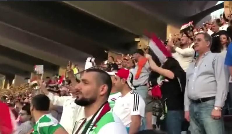 战争杀不死足球 !伊拉克集结阿联酋观赛