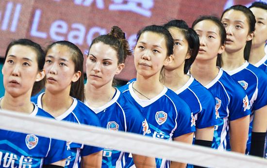 女排联赛-北汽女排不容小觑 上海备战毫不放松