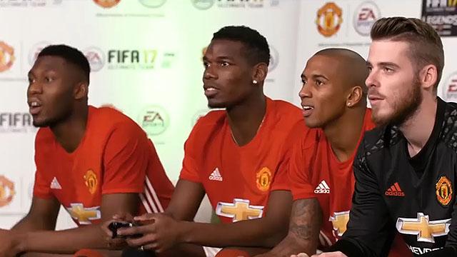 看看自己有多强 著名球星们一起玩FIFA