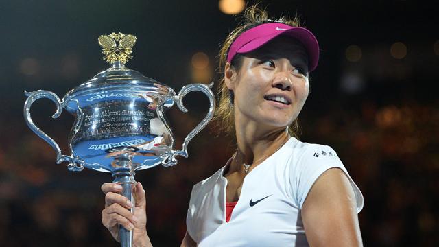 澳网5大女球员时刻 2014李娜颁奖礼上妙语连珠