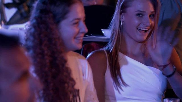 迪拜赛WTA球员派对 众星晚礼服加身尽显优雅